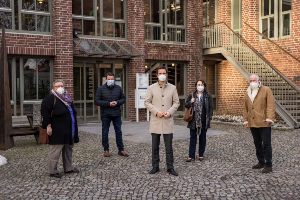 Steffen Krach besucht Gehrden